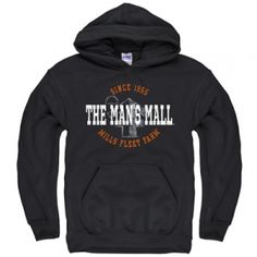 Find the Mills Fleet Farm The Man's Mall Hoodie - Black by Mills Fleet Farm at Mills Fleet Farm.  Mills has low prices and great selection on all Sweatshirts.