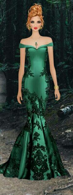 bonito diseño en venta en línea Para estrenar Vestidos corte Sirena