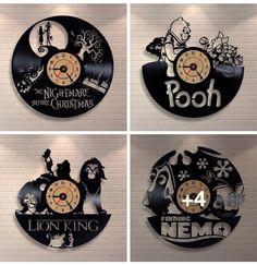 Disney record art