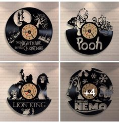 Disney record art