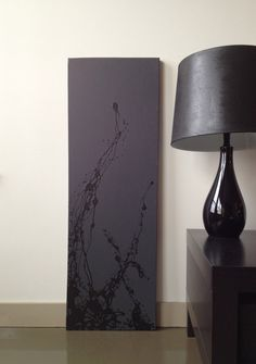 Original Contemporary Abstract Art Canvas Painting 12X36. $145.00, IM REALLY FEELING THIS