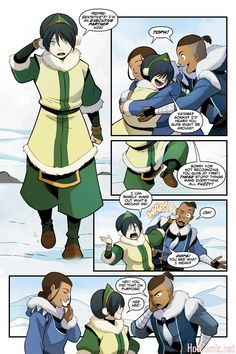 Read online Nickelodeon Avatar: The Last Airbender - North and South comic -  Issue #2