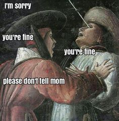 Classical Art Memes - Life with Siblings