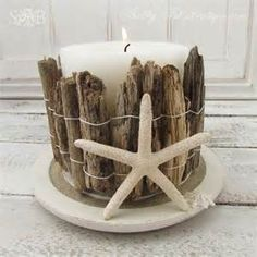 Driftwood and Fabric Crafts - Bing images More