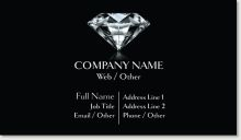 Personalize your own elegant Black diamond Standard Business Cards. Vistaprint is your source to high-quality, affordable Standard Business Card Round Business Cards, Business Cards Online, Vistaprint Business Cards, Business Stickers, Unique Business Cards, Professional Business Cards, How To Memorize Things, Things To Come, Spot Uv