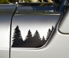 Jeep Wrangler TJ forêt Hood Decal Set par GraphicForest sur Etsy
