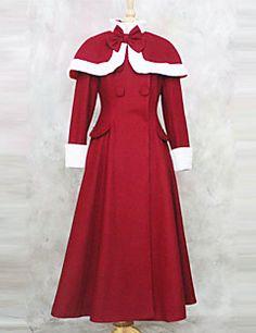 Nette Sweety Long Sleeve Velvet Princess Lolita Coat