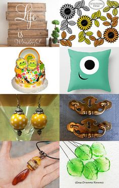 Life is Wonderful by Irina on Etsy--Pinned with TreasuryPin.com