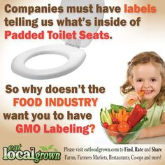 GMO Labeling......should NOT be a option...Label ALL food now!