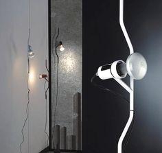 Lampara Move E27 regulable altura color negro