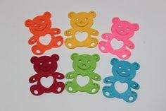 En el caso de trabajos infantiles, os recomendamos estos ositos, disponibles en varios colores ¡Fantásticos!