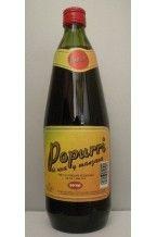 Popurri: Bebida refrescante aromatizada de uva y manzana elaborada con agua mineral natural.