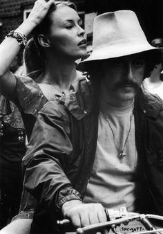 """Al Pacino y Cornelia Sharpe en """"Serpico"""", 1973"""