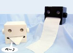 Fancy - Robot-Controlled Toilet Paper