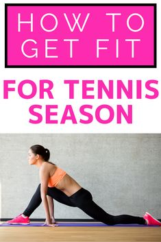 Are you looking for tennis workouts to get you in shape? These strength and cardio workout ideas will help you prepare for the start of tennis season. Tennis players need to work all muscle groups and do stretching to stay flexible. Tennis Lessons, Tennis Tips, Sport Tennis, Tennis Rules, Tennis Gear, Tennis Scores, Game Day Quotes, How To Play Tennis, Tennis Funny