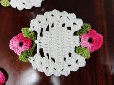 Lair knitting and crochet: Coasters beautiful!!