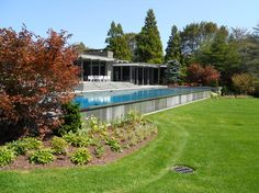 1000 Images About Inground Pools On Hill On Pinterest