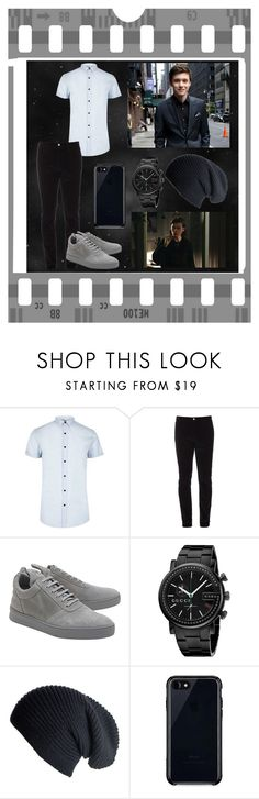 """""""Tyler - Picture Day"""" by gracielovesyou01 ❤ liked on Polyvore featuring River Island, Gucci, Filling Pieces, Black and Belkin"""