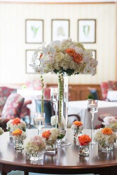 This Florida wedding immediately caught our eye with the extravagant floral designs by Hutchinson's. The lush floral bouquets in tall glass vases are literally everywhere you look! They are absolutely stunning and we just can't take our eyes off them. We are especially in love with the ceremony hall at John's Island Private Club in […]
