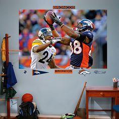 Demaryius Thomas Playoffs Mural, Denver Broncos