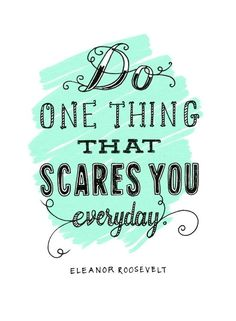 Whats something that scares you?