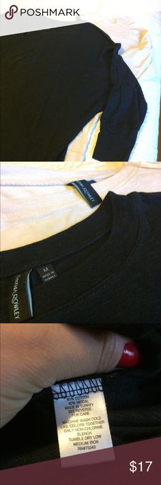 Bundle of dolman tops 3/4 sleeve dolman tops. One is cream and one is black. Good condition. Both size medium. Cynthia Rowley Tops Blouses