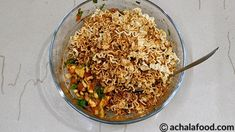 Maggi Bhel is a recipe of savory snack & chaat recipe in hindi & english with step to step directions with photos & recipe video,tips & variation Khandvi Recipe, Bhel Recipe, Kulfi Recipe, Biryani Recipe, Spicy Recipes, Indian Food Recipes, Vegetarian Recipes, Cooking Recipes, Soya Chunks Recipe