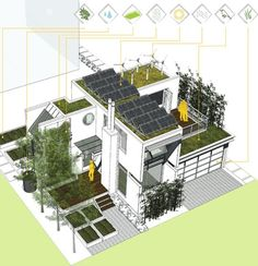 Romses Architects: From Vertical Farms To Backlane Solar Prefab : TreeHugger