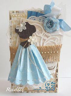 Romantic dress - Scrapbook.com