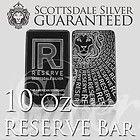 10 oz RESERVE by Scottsdale Silver Bar -