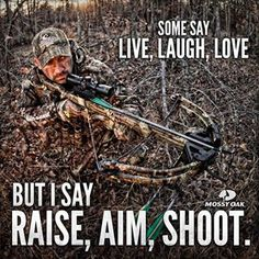 Except i shoot a compound bow :)