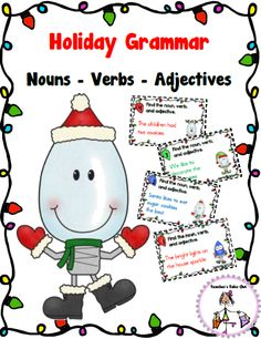 Free Holiday Grammar Center