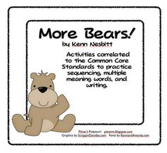 Reading activities following common core (sequence, multiple meaning words, and writing)
