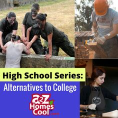 College doesn't have to be the next step after high school. Learn more about alternatives to college and how to help your homeschooler succeed! College List, Online College, College Hacks, College Fun, Alternative High School, Types Of Education, College Majors, Importance Of Time Management, Best Online Courses
