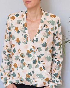 Patron T Shirt, Marie Claire, Dressmaking, Blouse, Crochet, Dresses, Fashion, Big Sizes, Ideas