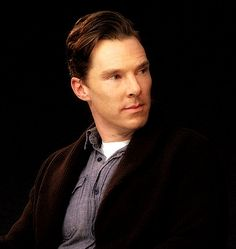 Benedict Cumberbatch. And you really have to ask why we go crazy about you?