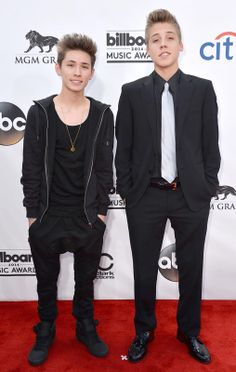 Carter Reynolds and Matthew Espinosa