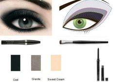 Mary Kay exclusive colors....smokey eye look.   Do not remove the fact that this is Mary Kay!   Its their look and their product to get the look!   Thank you!