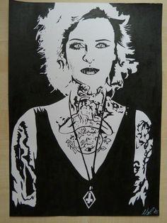 #Jenniferweist #jenniferrostock #zeichnen #drawing #draw #paint #painting #acryl