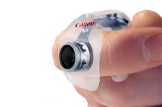 Digital cameras will continue to get smaller and smaller so long as technology successfully miniaturizes high quality optics. The Canon Snap concept is a look into what a future device might look like. The Snap is tiny enough to wear on your finger yet powerful enough to give today's bigger cameras a run for their money.