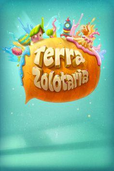 TerraZolotaria by Tatiana Koidanov, via Behance