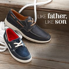 Father's Day Gifts from Clarks   men's shoes   boys' shoes   spring style