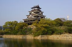 広島県 Castles, Tower, Cabin, Mansions, House Styles, Building, Travel, Home Decor, Rook
