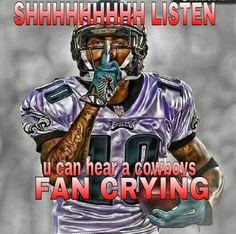 Yup dont worry tho thats just my baby daddy. Philadelphia Eagles Helmet, Philadelphia Eagles Super Bowl, Philadelphia Sports, Eagles Cheerleaders, Eagles Team, Eagles Nfl, Dallas Cowboys Jokes, Cowboys Memes, Funny Football Memes