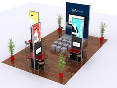 Steps to Trade Show Success Having different angles and your own space!!!!