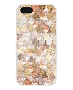 Mermaid Gold als iPhone 5/5S Hülle von Monika Strigel | JUNIQE