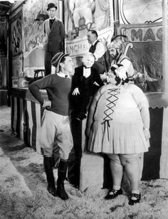 """"""" Freaks """" - 1931. This movie is awesome. Once billed as a horror film, it is received differently today.  The """"freaks"""" are the good guys who have to deal with the evil """"normals"""".  Hurray for the Special People in this story. Gooble-gobble! Gooble-gobble!"""