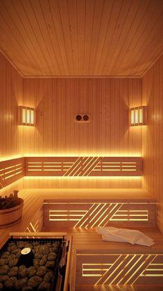 Изображение 1 из 3   Facebook  Twitter  Вконтакте Sauna Steam Room, Sauna Room, Outdoor Sauna, Jacuzzi Outdoor, Saunas, Basement Sauna, Sauna Lights, Building A Sauna, Sauna Seca