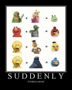 Funny meme angry birds