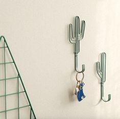 Wall Hook  Cactus   / Wall Hanging / Wall Decor Hook /